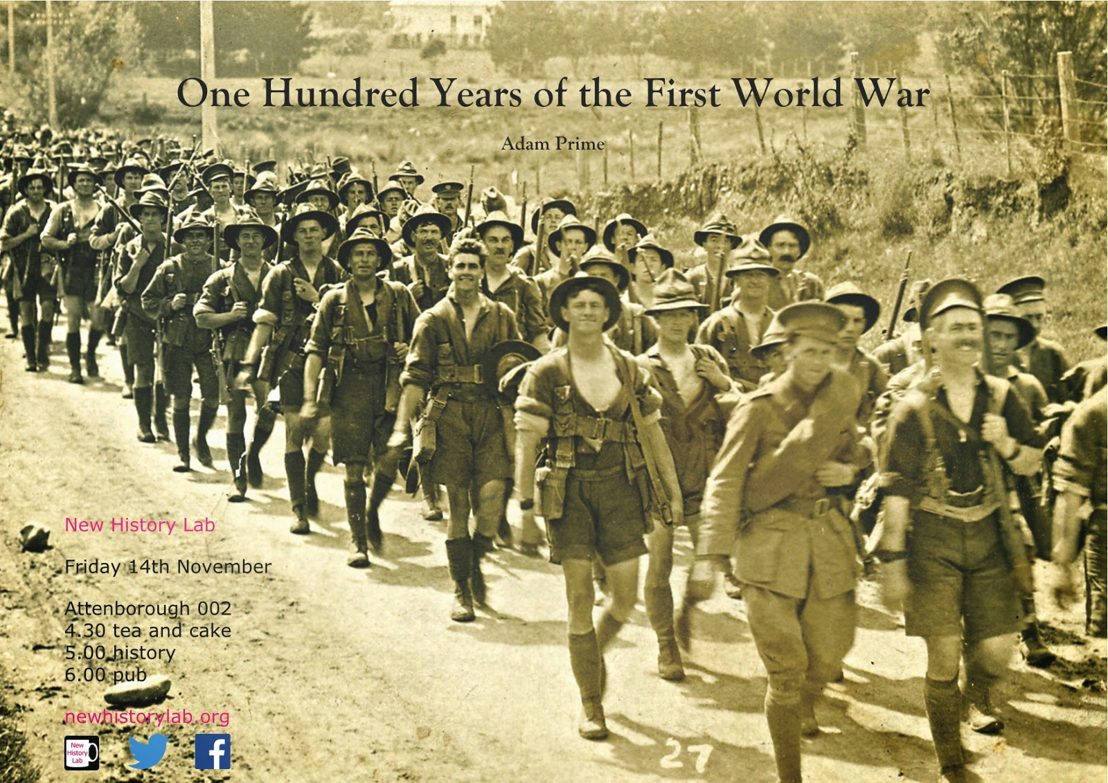 New History Lab: 100 Years of the First World War