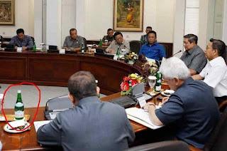 Equil Sering Disajikan Dalam Acara Pertemuan atau Rapat Para Petinggi Negara