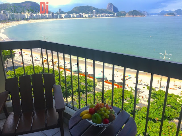 Uma varanda muito triste :( kkkk - Sofitel Copacabana