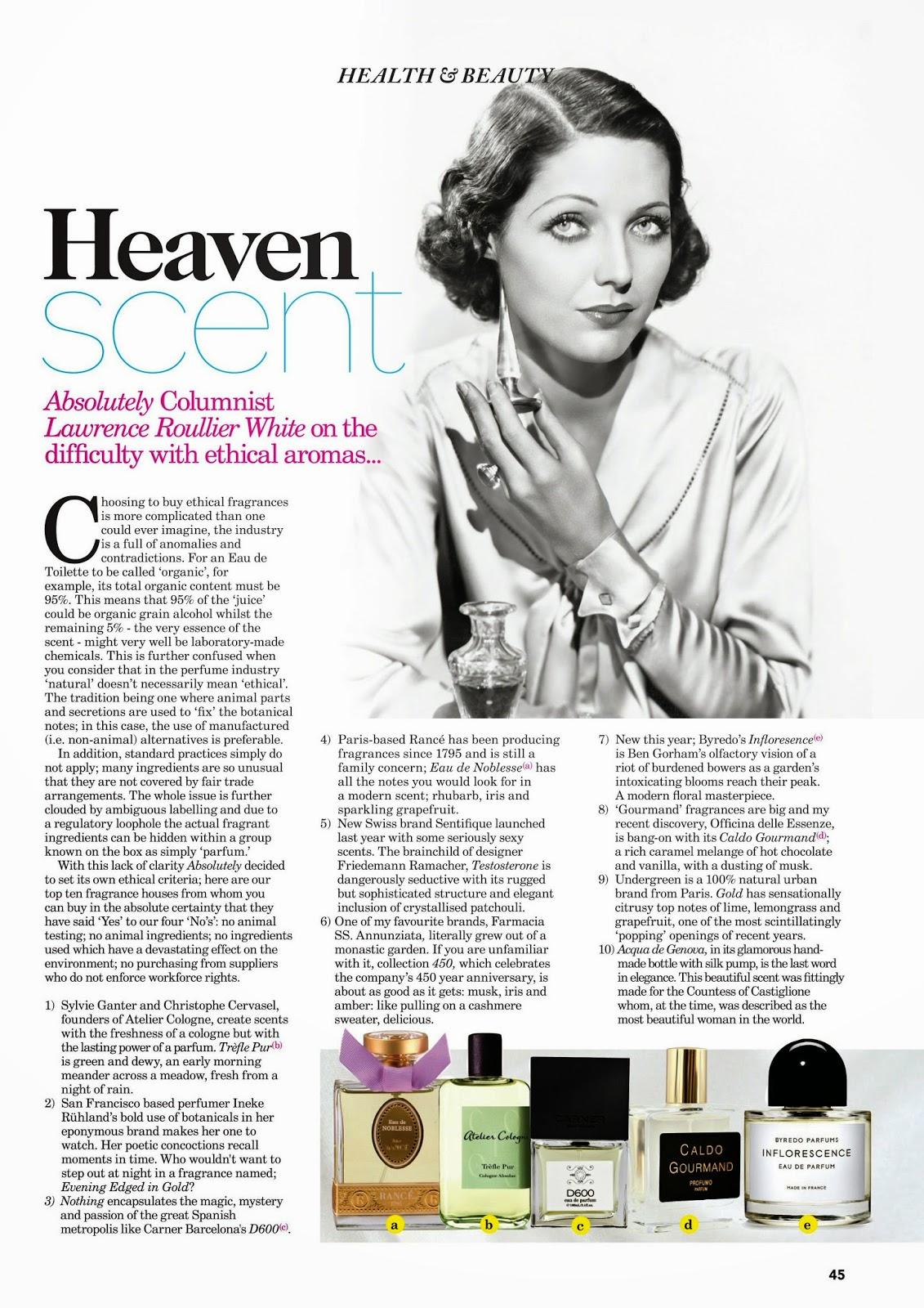 Heaven Scent: Ethical Fragrances