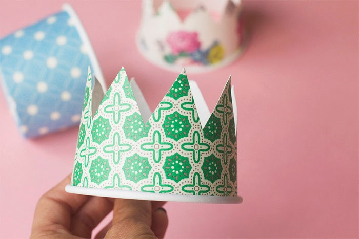 5b629fbb62e1d This pack of paper cups has the perfect variety for boys and girls and  takes minutes to make! A fun way to customize your party goers hats in a  simple way:)
