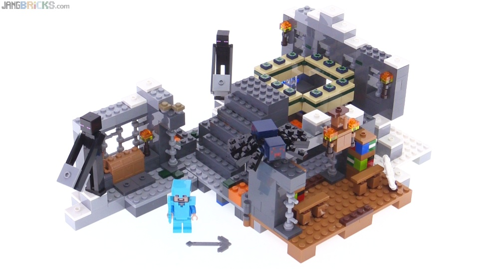 Lego Minecraft 2016 The End Portal Review 21124