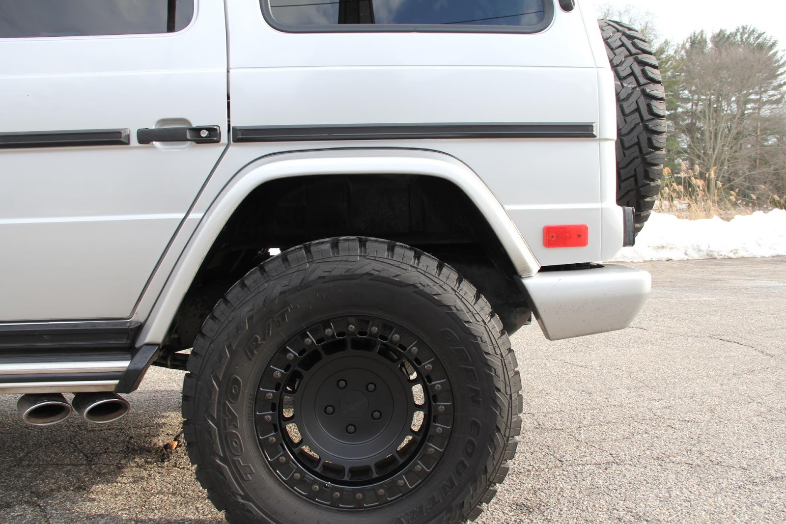 2005 Mercedes Benz G55 Amg On 18 Quot Rotiform Offroad Wheels