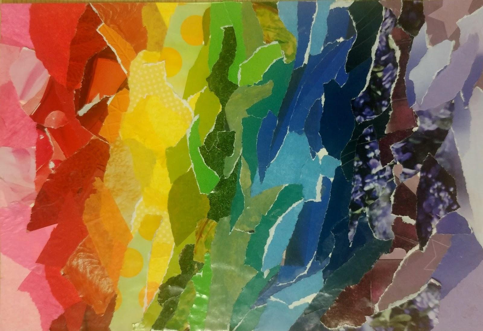 The Basement Community Art Studio: Art Prompt 3- Torn ...