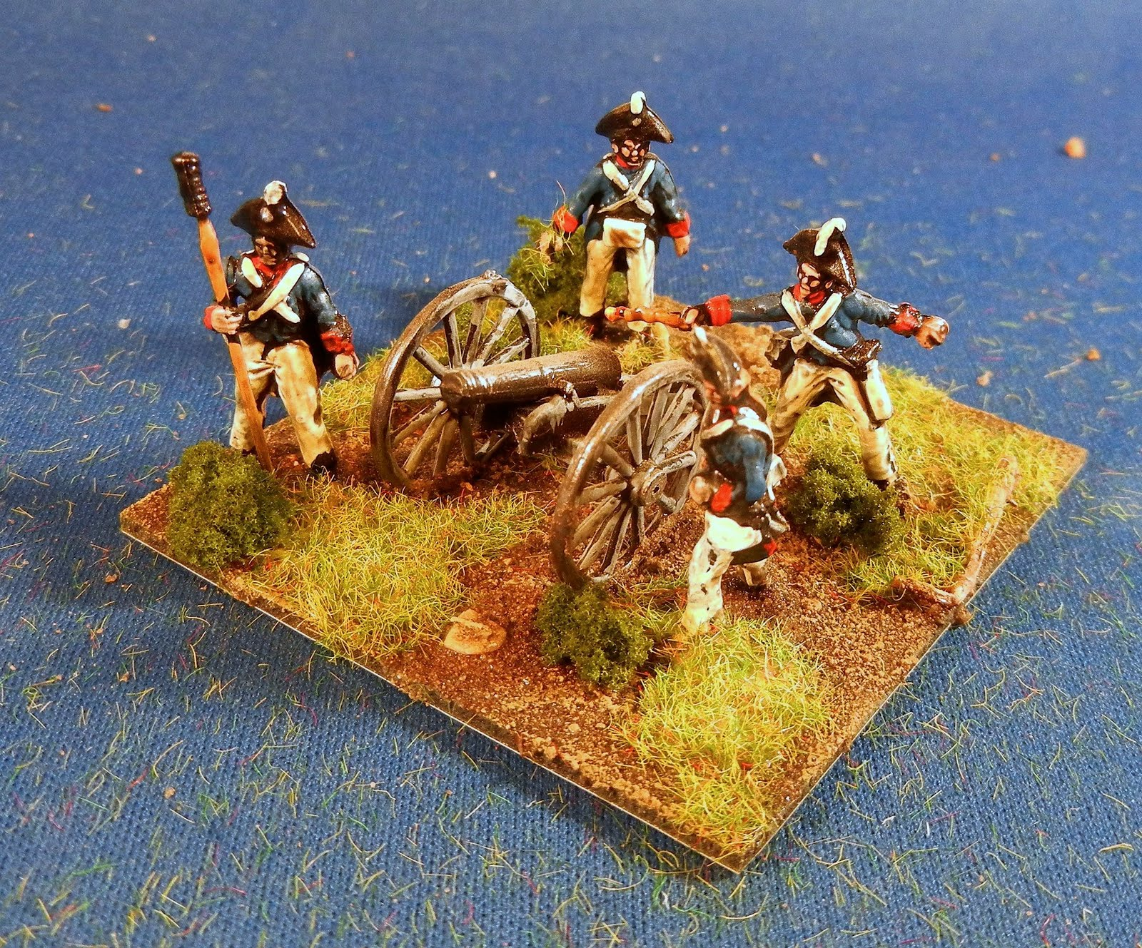 Bob S Miniature Wargaming Blog War Of American Artillery