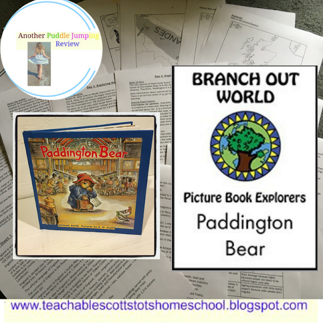 Review, #hsreviews, #BOWresources, #projectfuntolearn, #PictureBookExplorers, lit-based unit studies, topic pack, home education resources, homeschool resources