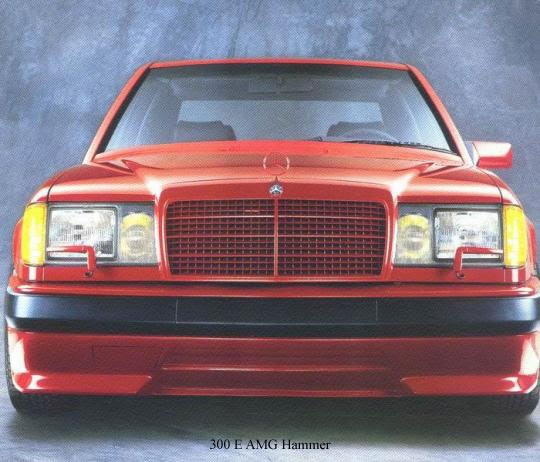 W124ers: W124 AMG Hammer: Ready For The Hammer Party?