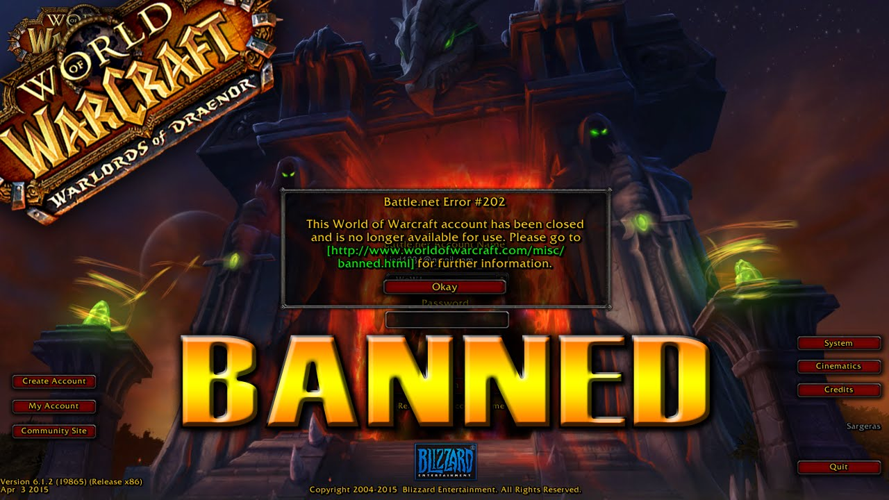 Can you get banned for gambling in wow las vegas gambling stores