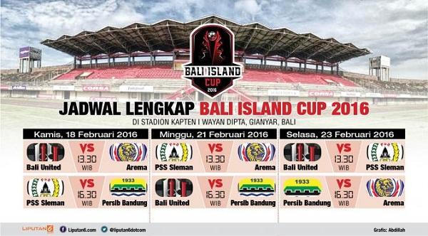 Jadwal Bali Island Cup