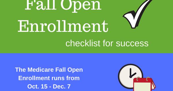 Baby Boomer Retirement Annual Medicare Open Enrollment Period