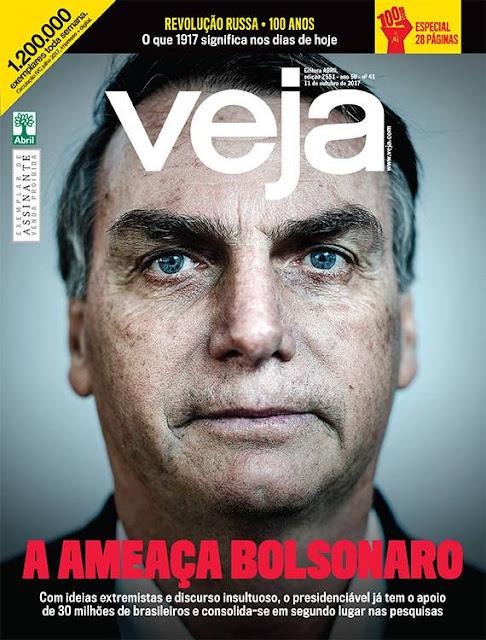 Revista Veja recebeu R$ 600 milhões para destruir Bolsonaro