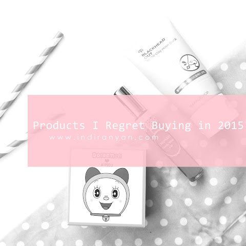 Products I Regret Buying in 2015