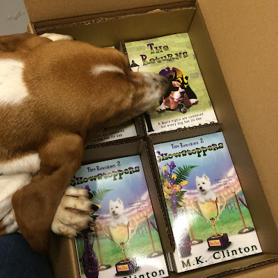 Bentley Basset looks at The Returns and Showstoppers paperback books