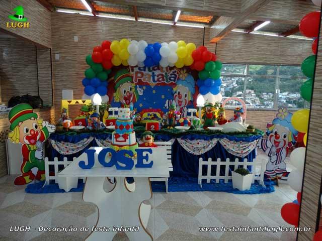 Decoração luxo Patati Patatá para festa de aniversário infantil