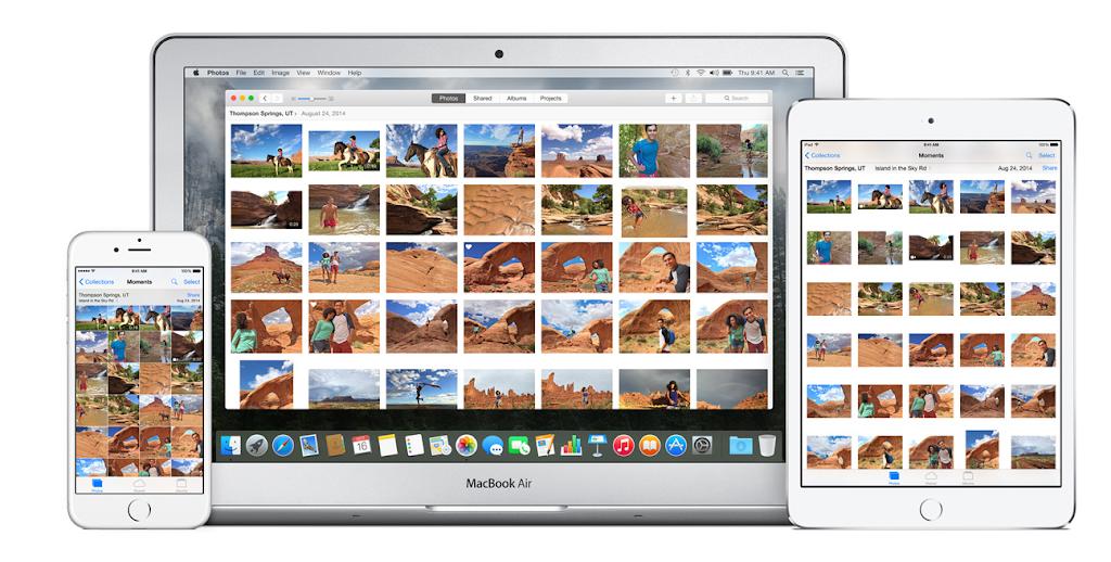 整合iCloud,Mac推新相片應用