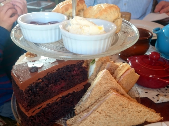 afternoon tea at talk of tea brighton