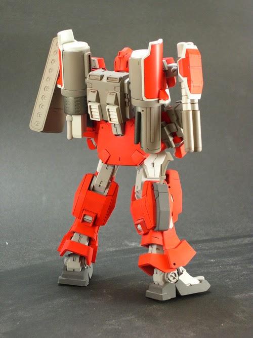 RC Berg: 1/144 Gundam Leopard DESTROY Garage Kit C3 x Hobby