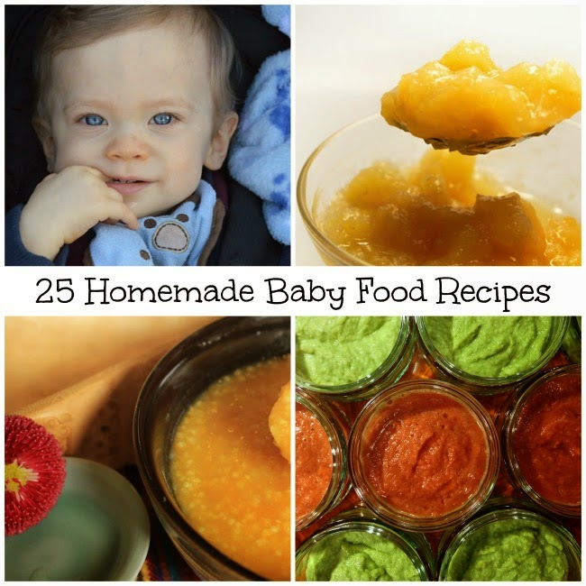 Becky Cooks Lightly: 25 Homemade Baby Food Recipes