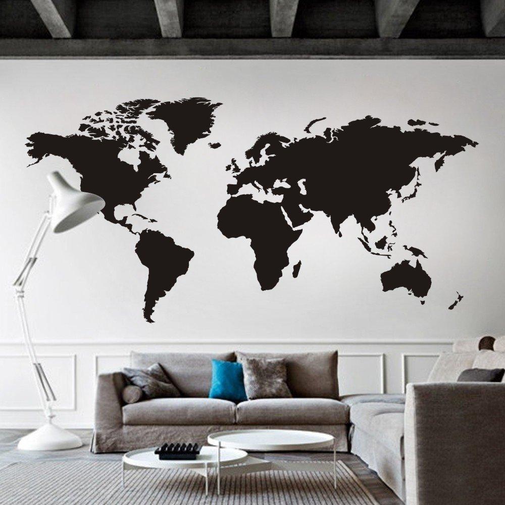 Pequefelicidad mis 10 mapas del mundo de pared favoritos - Mapamundi pizarra ...