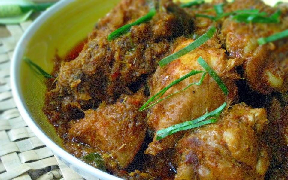 Resep Rendang Ayam : Resep rendang ayam suwir / 1/2 ekor