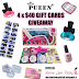 Giveaway #7 - Pueen $40 gift cards x 4 winners!