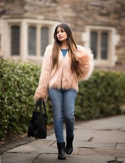 Shein Faur Fur Jacket