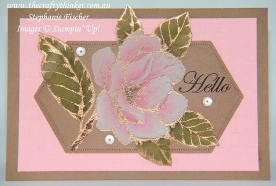#thecraftythinker #stampinup #goodmorningaustralia #cardmaking #rubberstamping , Good Morning Magnolia, Stampin' Up Australia Demonstrator, Stephanie Fischer, Sydney NSW