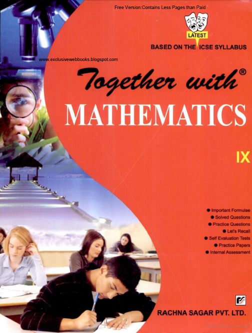 ICSE SELF-STUDY IN MATHEMATICS CLASS-IX | Exclusive Web Books