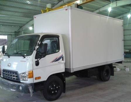 Xe Hyundai 2.5T thùng Composit