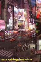 Times Square desde la tienda de M&Ms, NYC