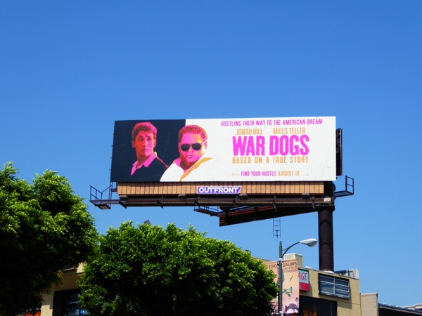 War Dogs film billboard