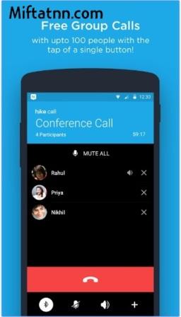 Aplikasi Chat Android Paling Ringan Hike Messenger Apk Terbaru