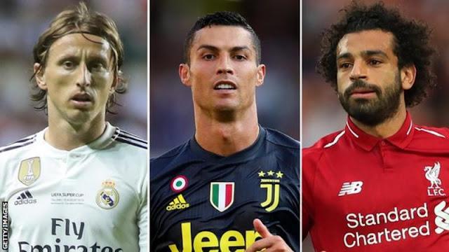 Mohamed Salah Saingi Ronaldo Jadi Calon Pemain Terbaik Eropa