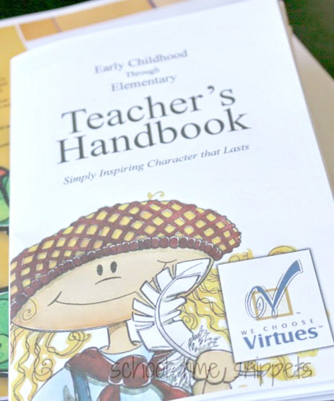 we choose virtues character education review from School Time Snippets