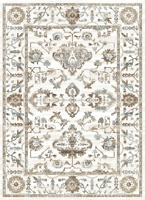 I love farmhouse style, the color blue, and cushy rugs! Here are ten of my favorite blue rugs. All of them perfect for creating that farmhouse style! vintage blue floral