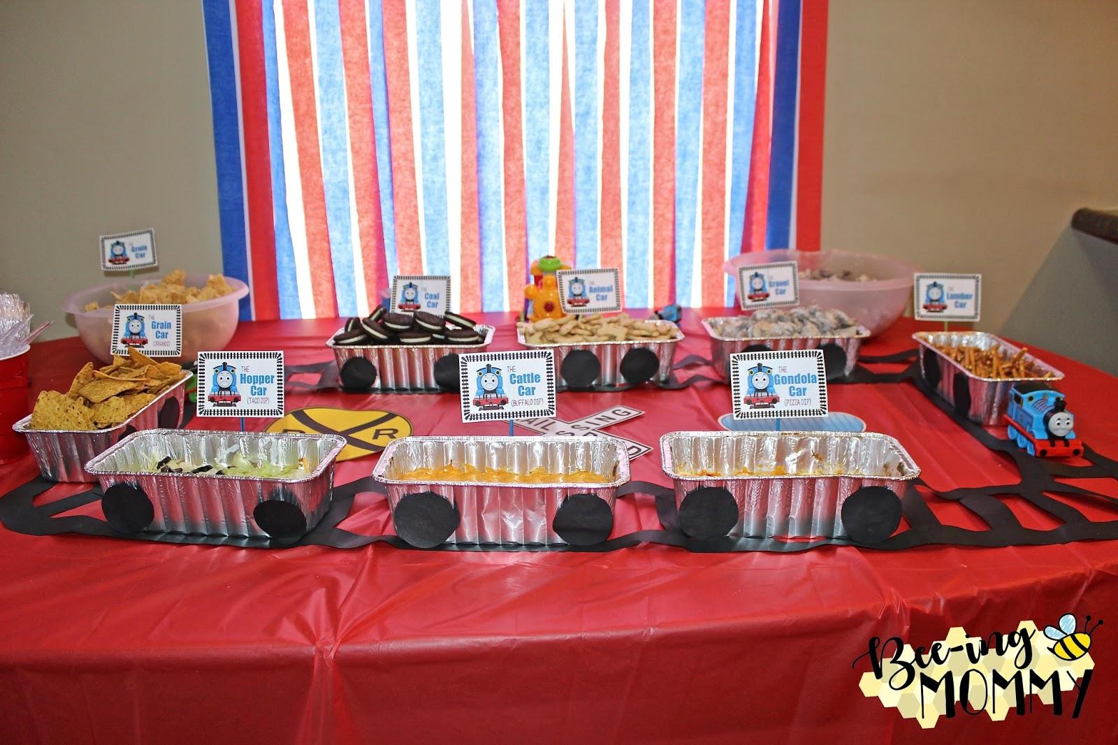 Thomas The Train Birthday Party Food Ideas