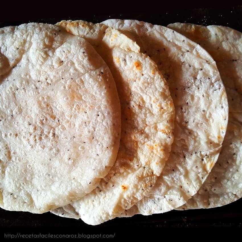 masa taco harina de arroz