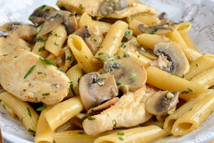 SYN FREE CREAMY CHICKEN AND MUSHROOM PASTA