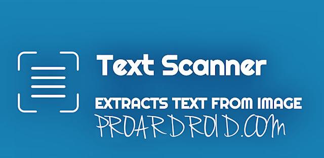 تطبيق OCR Text Scanner pro لتحويل صورة الي نص من خلال هاتفك الاندرويد logo