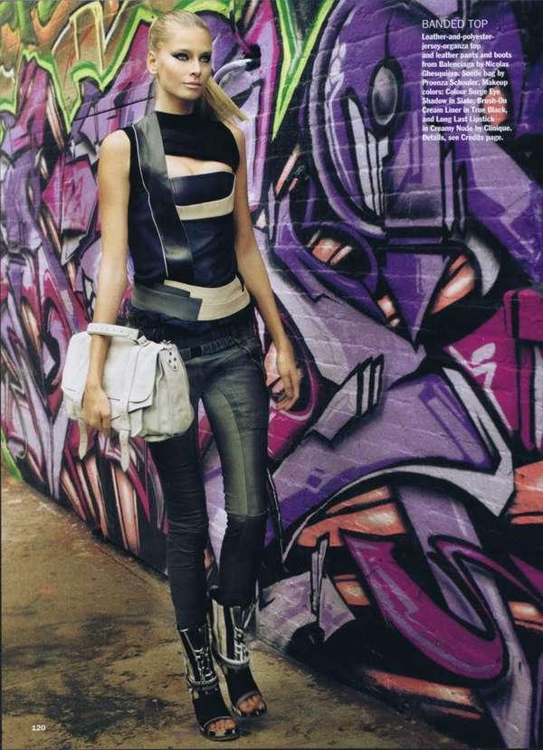 graffiti fashion is fashionable now