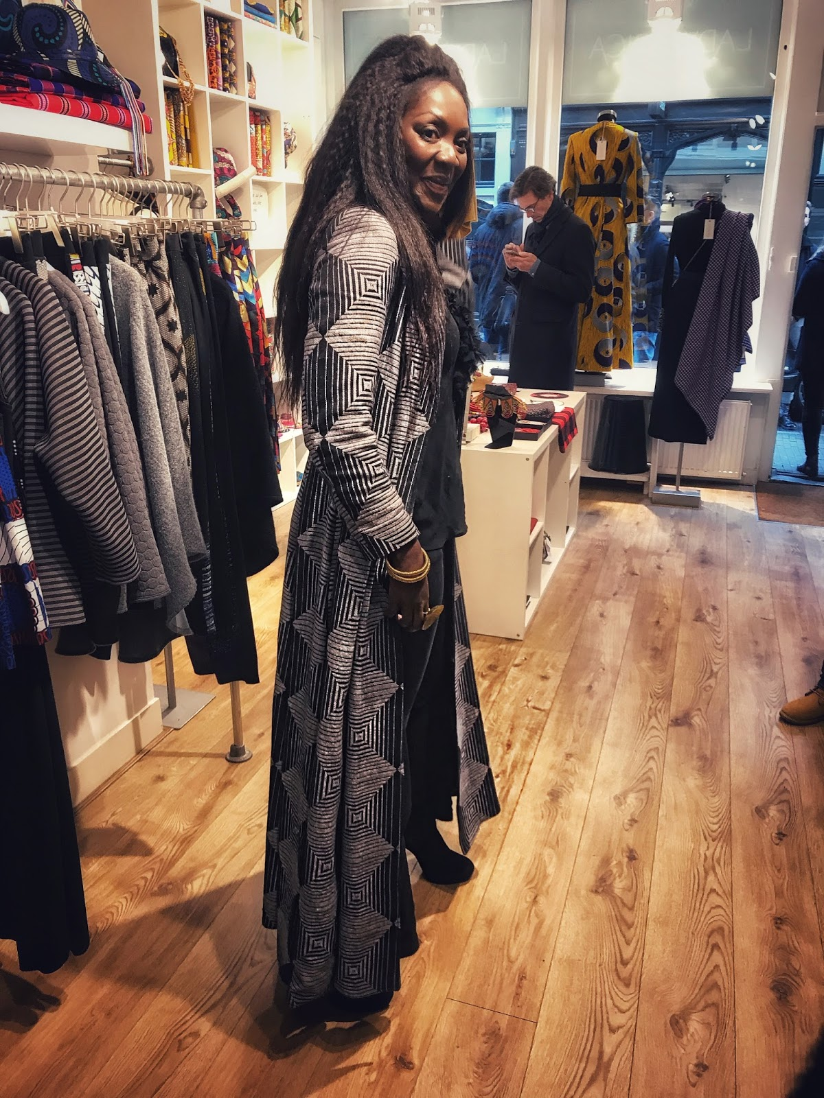 Store Owner Irene Lady Africa The Hague Netherlands