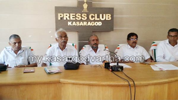 Kerala, News, Kasargod, Press meet, Kerala State Service Pensioners Association district conference on 27 and 28.