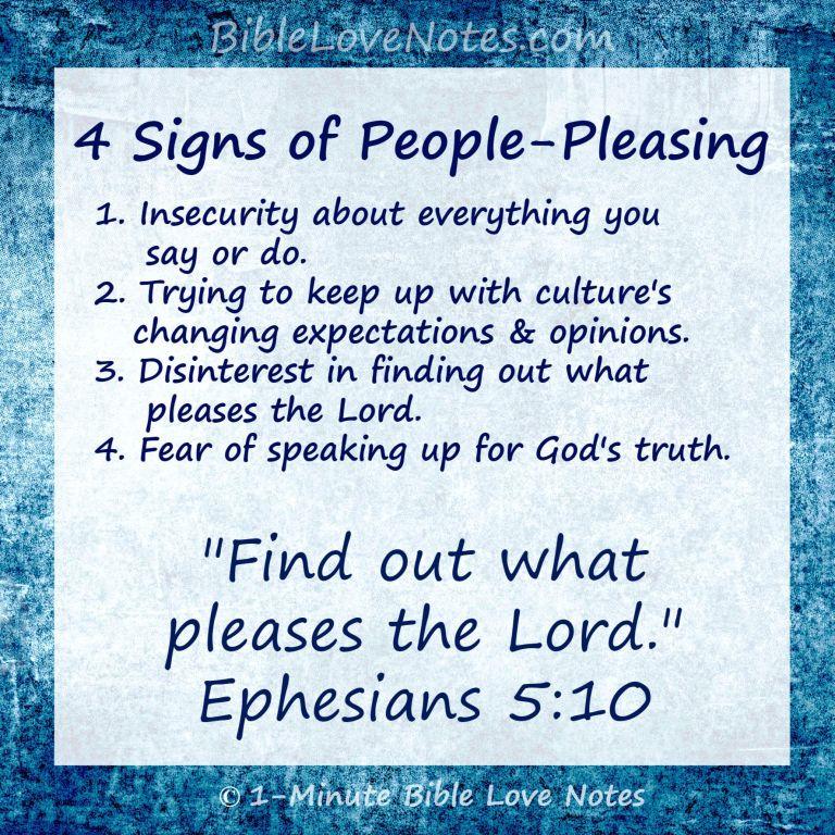People pleasers