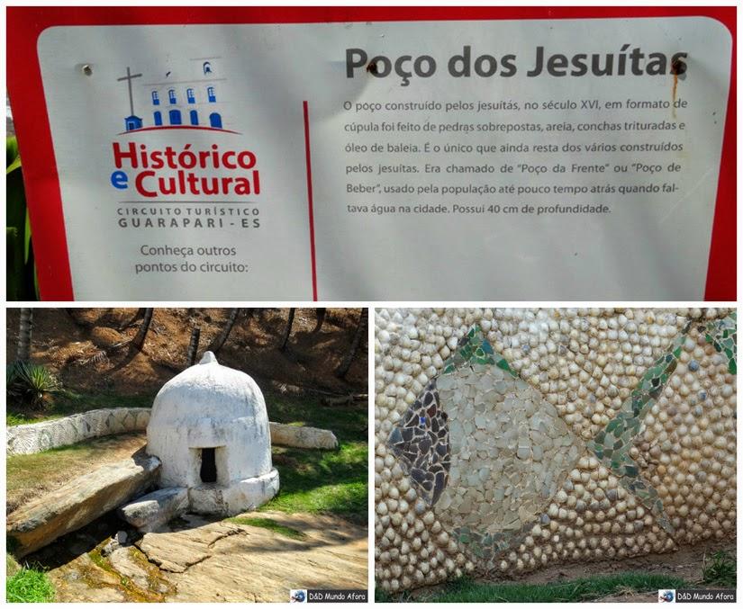 Poço dos Jesuítas - o que fazer em Guarapari - Espírito Santo