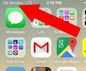 forza segnale su iPhone