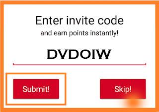Kode invite GrabPoint