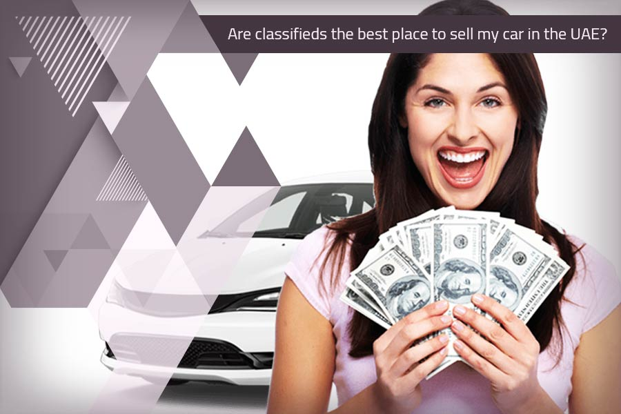 Are classifieds the best place to sell my car in the UAE?