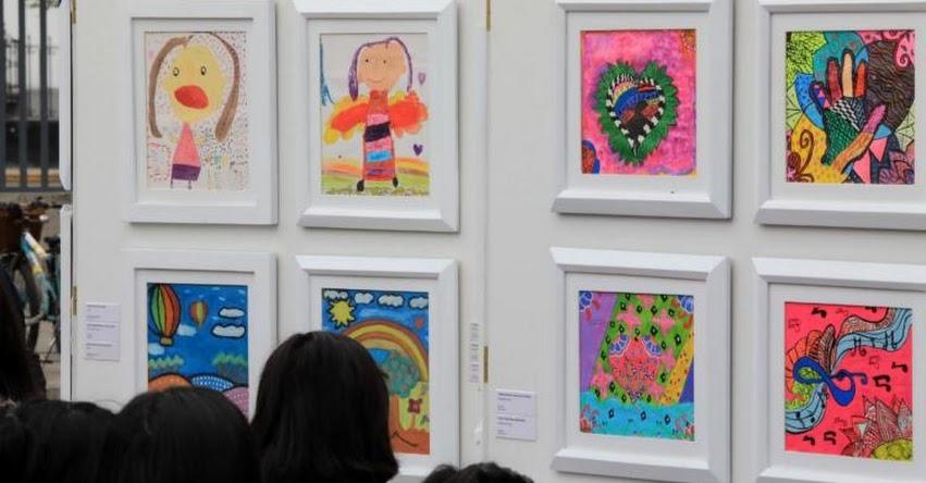 Amplían hasta el 13 de octubre muestra pictórica de niños del Inabif