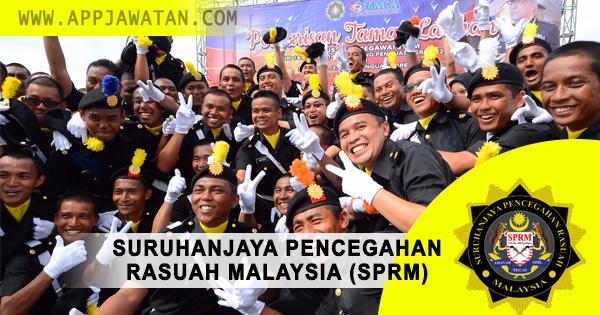 Jawatan Kosong di Suruhanjaya Pencegahan Rasuah Malaysia (SPRM)