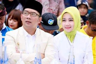 Ridwan Kamil Larang Istrinya Maju di Pilwalkot Bandung 2018